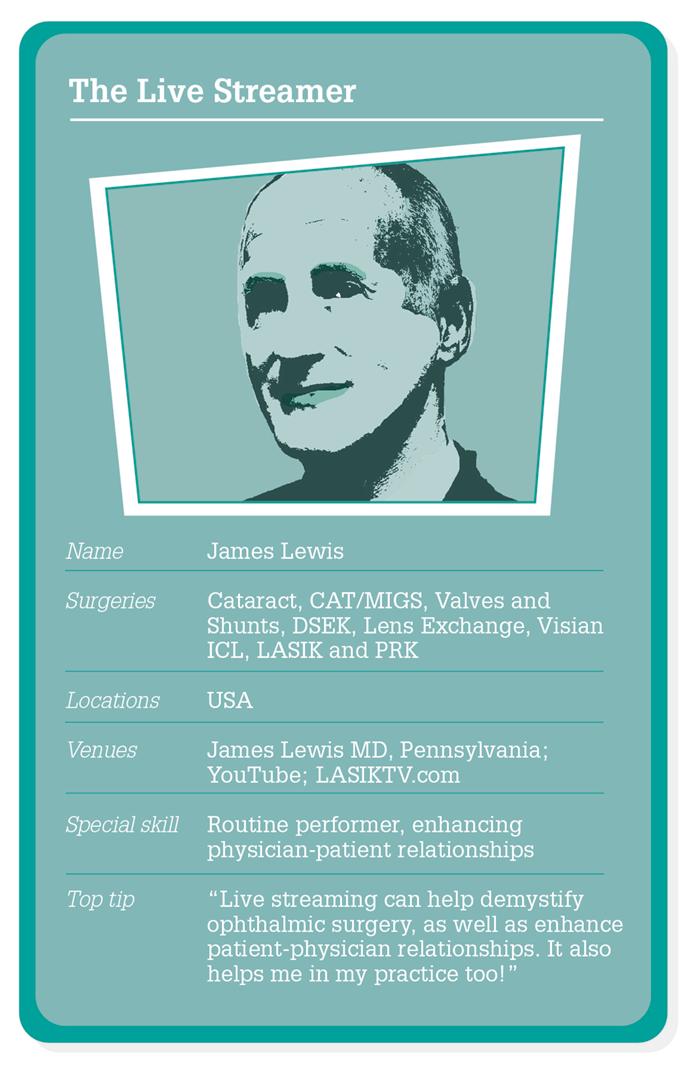 Dr. Lewis Live Streamer